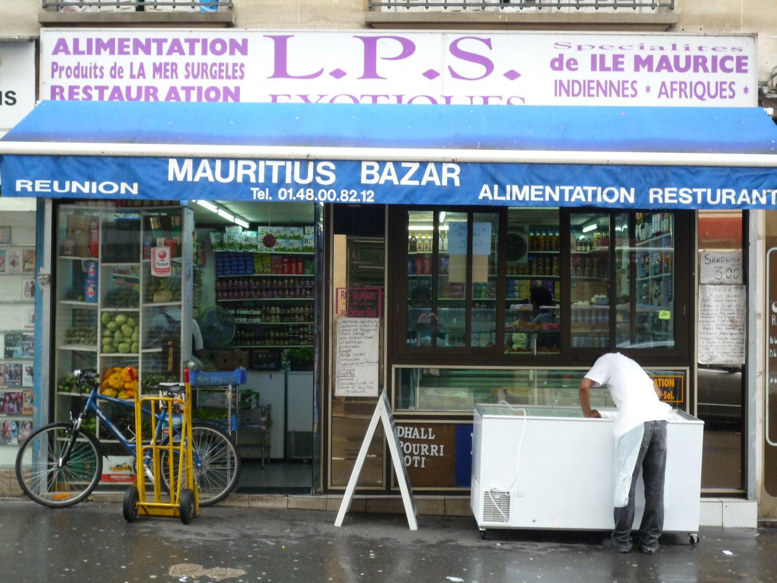Mauritius bazar paris 75010 716 la vie for Maurice boutique