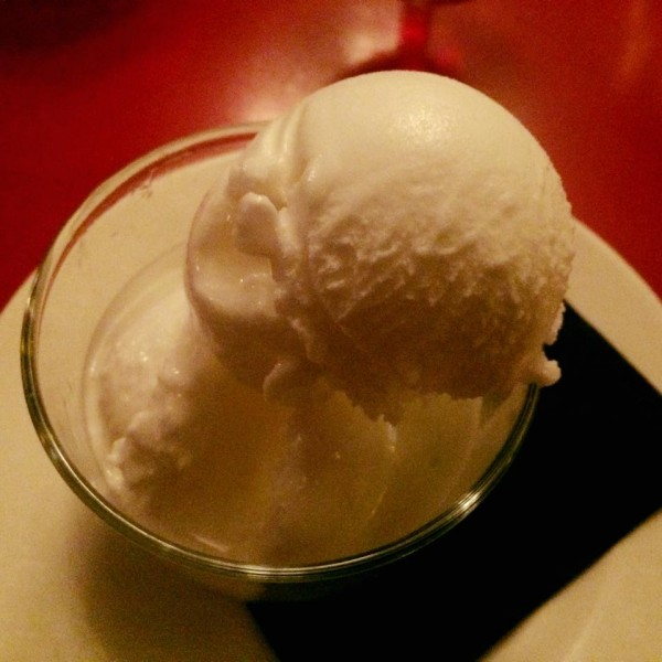 glace au limoncello de la briciola !
