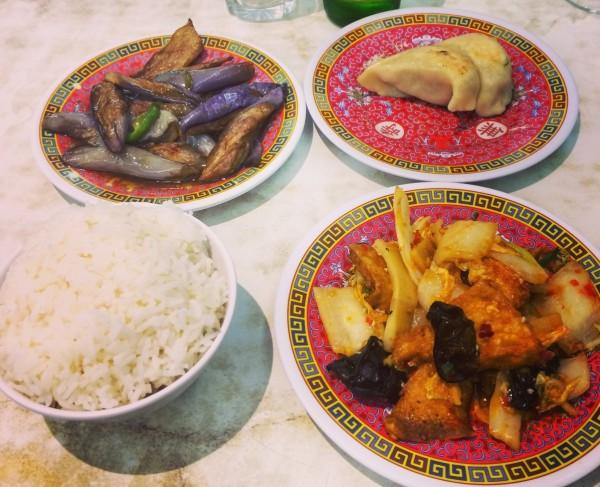 plats de chez Shen