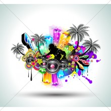 tropical-music-party-disco-flyer