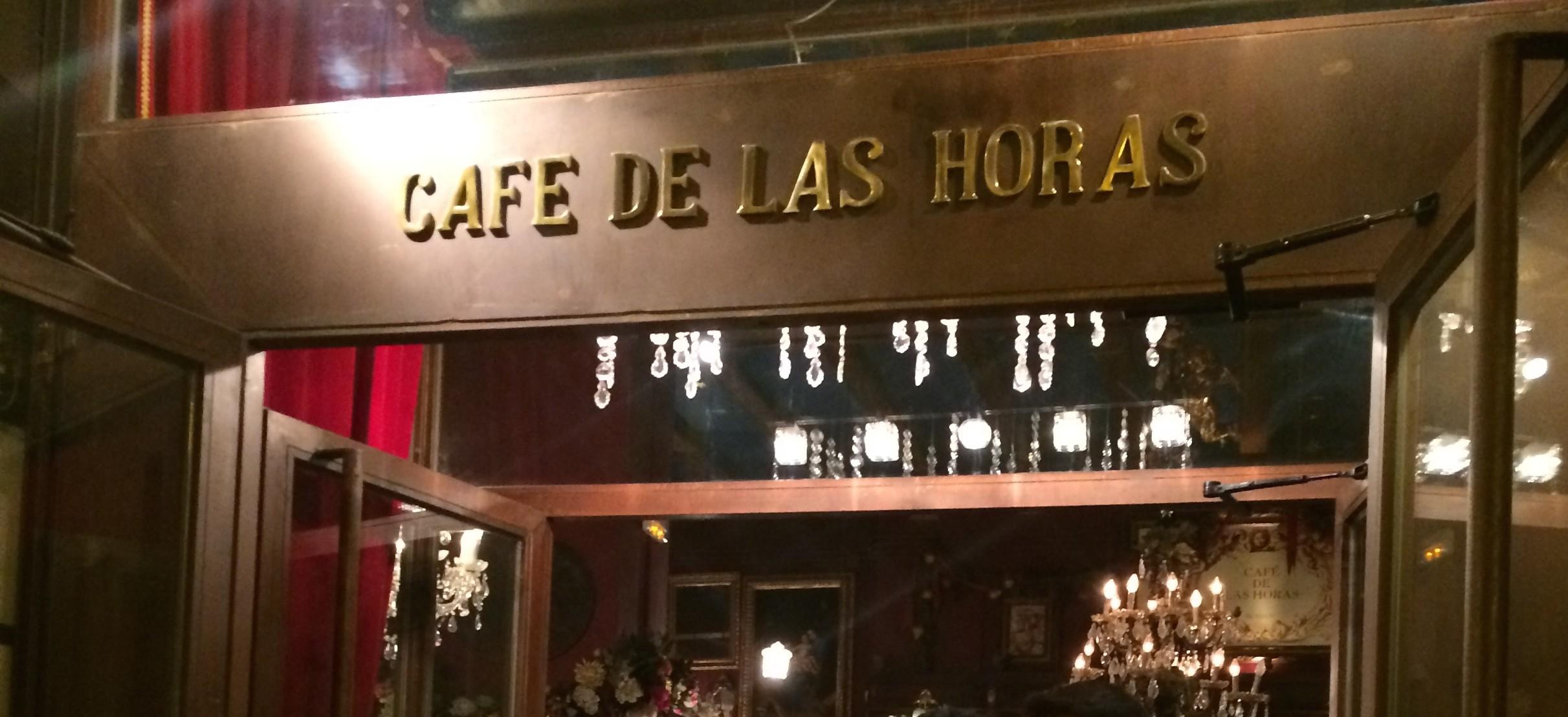 cafe de las horas - valence  espagne