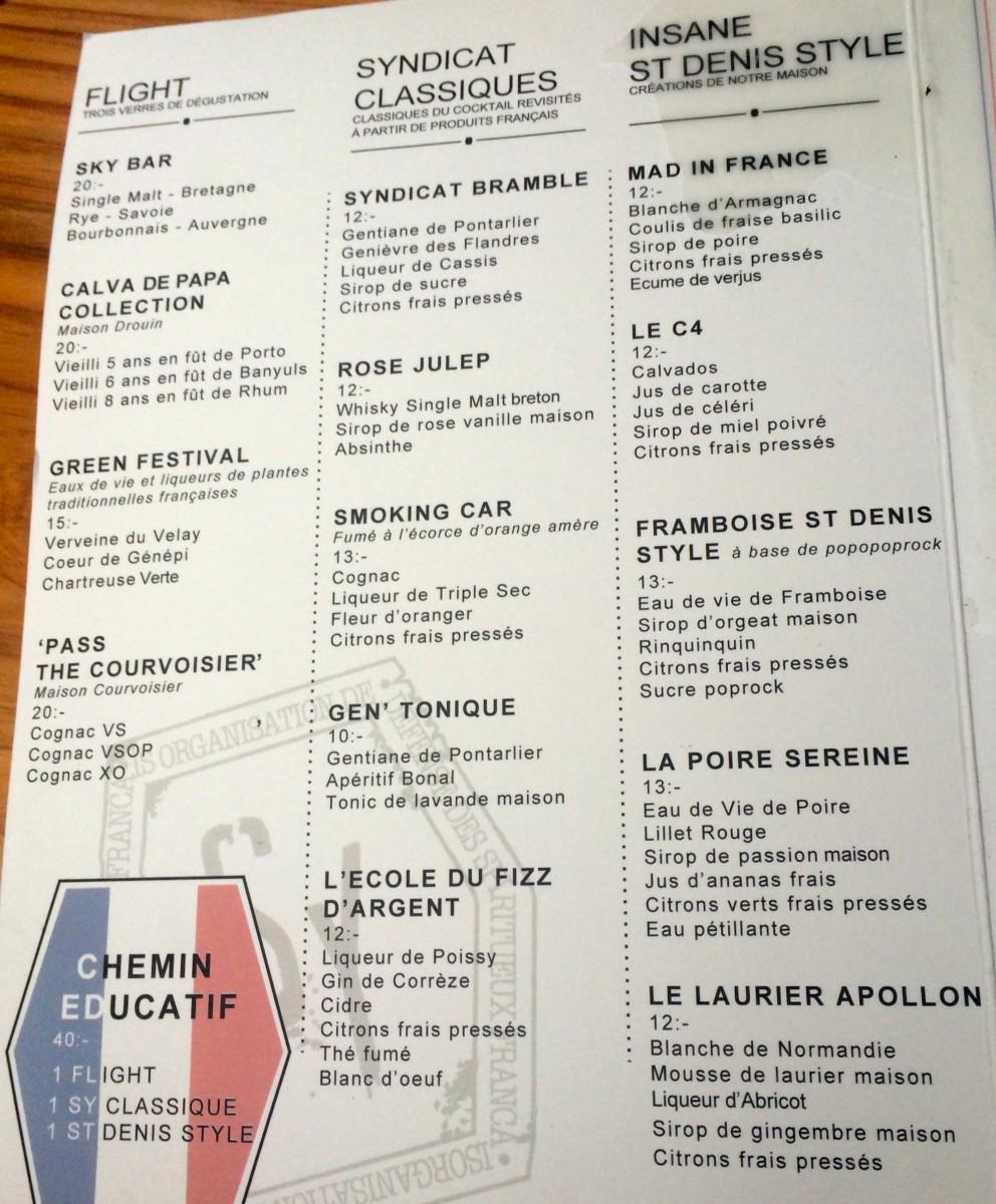 Le Syndicat Bar à Cocktails Paris 75010 716 La Vie