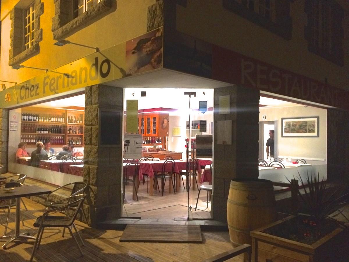 Restaurant Chez Fernando Plobannalec Lesconil