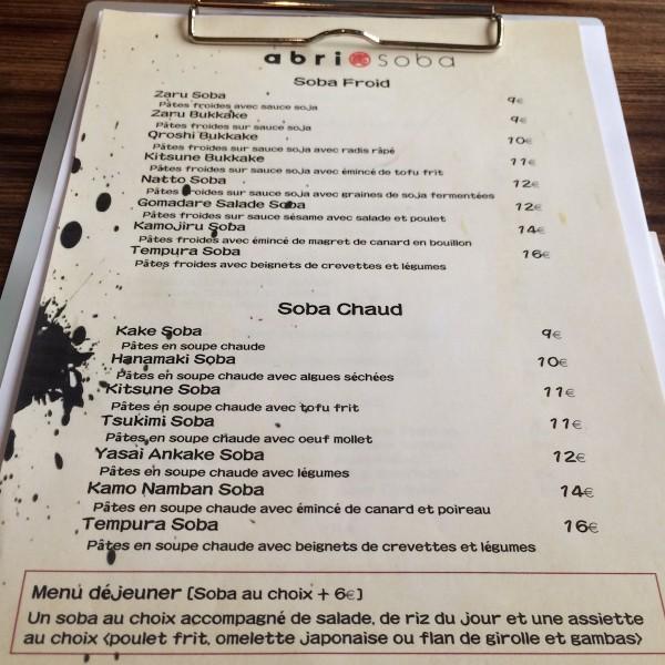Abri soba paris 75009 716 la vie for Restaurant abri paris