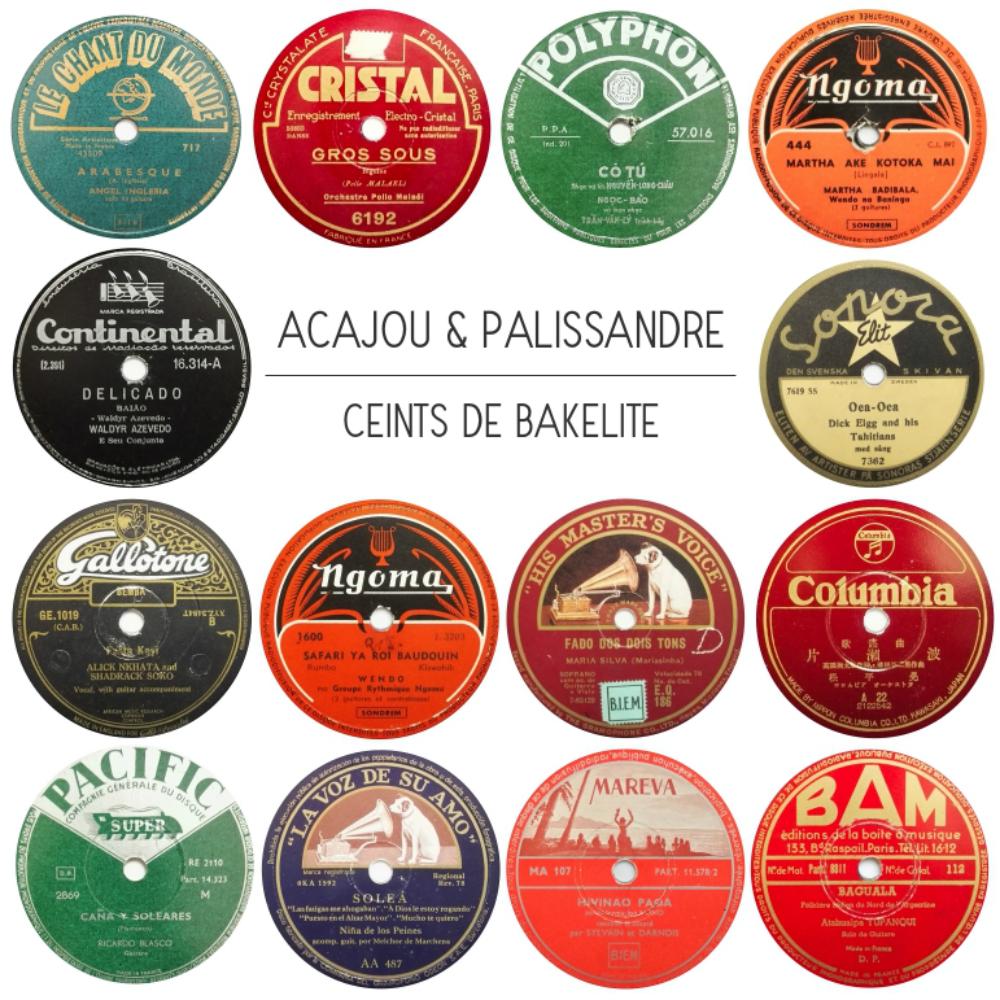 716 Exclusive Mix - Ceints de Bakélite - Acajou et Palissandre