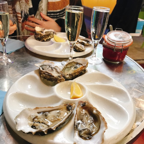 Les huîtres de Dominique Maury - Paris (75010)