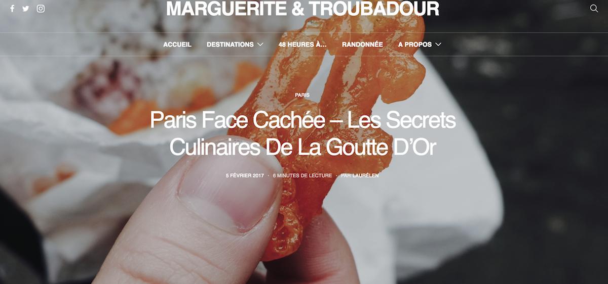 Marguerite et Troubadour